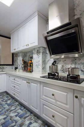 90平米三室两厅美式风格厨房图片