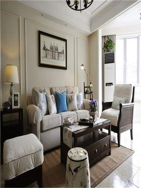 130平米三室一厅中式风格客厅图片大全