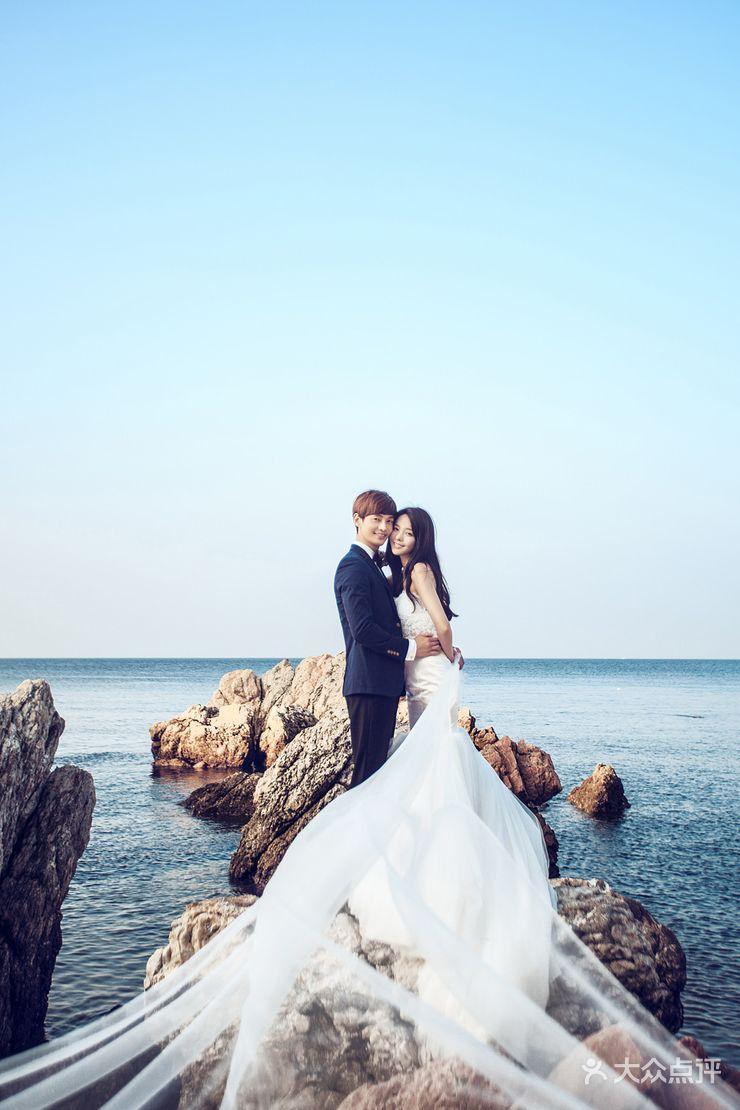 花好月圆婚纱摄影欧式韩式中式海景婚纱照
