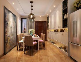 120平米四室两厅混搭风格餐厅设计图