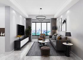 90平米三室一厅北欧风格客厅效果图