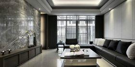 10-15万80平米现代简约风格客厅装修图片大全