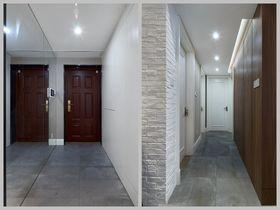 80平米三室两厅宜家风格玄关装修效果图