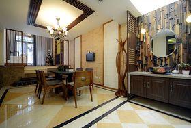 15-20万140平米四室两厅东南亚风格餐厅图片