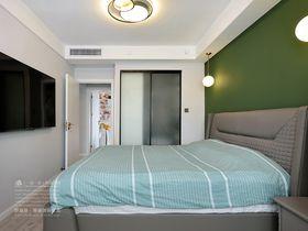 20万以上100平米三室两厅现代简约风格卧室效果图