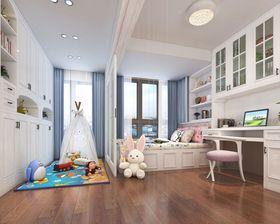 120平米三美式风格儿童房效果图