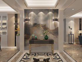130平米三室一厅现代简约风格玄关装修案例