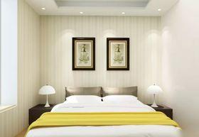 100平米四室两厅现代简约风格卧室照片墙图片