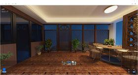 140平米复式欧式风格阳台装修图片大全