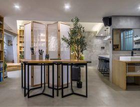 90平米三室两厅现代简约风格书房设计图
