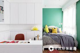 120平米三室两厅混搭风格卧室装修图片大全