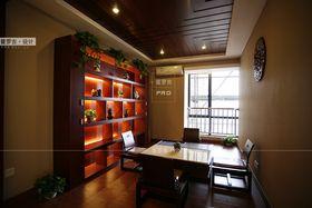 80平米三中式风格书房图