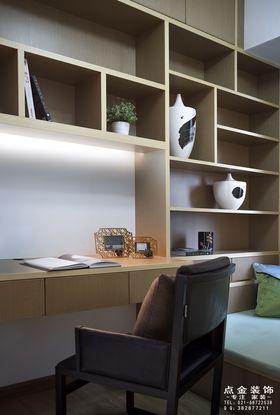 80平米中式风格书房装修图片大全