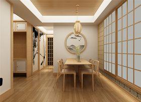 70平米日式風格餐廳裝修效果圖