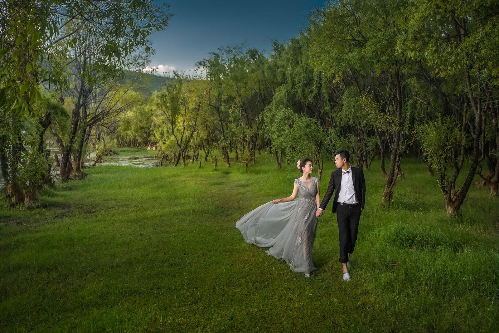 JW Studio婚纱摄影-油画风