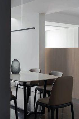 140平米復式現代簡約風格餐廳欣賞圖