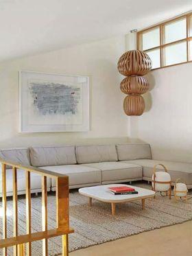 经济型130平米复式混搭风格阳光房设计图