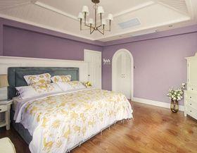 豪华型130平米三室两厅混搭风格卧室效果图