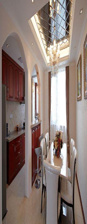 140平米三欧式风格客厅装修效果图