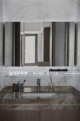 80平米三室兩廳現代簡約風格衛生間裝修案例