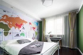130平米复式北欧风格卧室图片