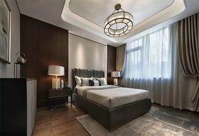 130平米四室两厅中式风格卧室图片大全