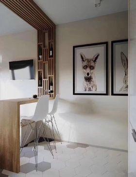 40平米小户型现代简约风格客厅装修图片大全