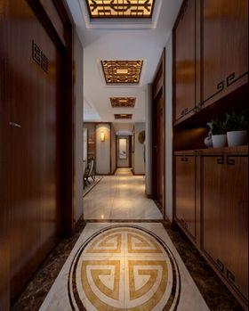 80平米三室两厅中式风格玄关图
