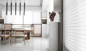 富裕型140平米复式现代简约风格餐厅装修效果图