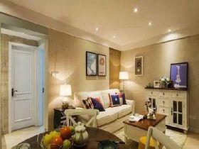 140平米三美式風格客廳沙發欣賞圖
