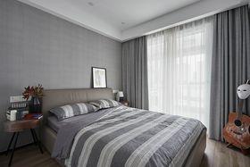 110平米三室两厅现代简约风格卧室装修图片大全