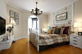 3万以下140平米三室两厅美式风格卧室欣赏图