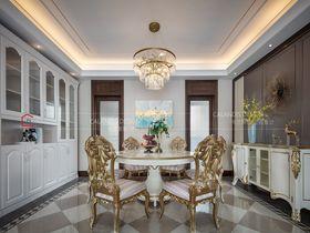 豪华型140平米三室两厅法式风格餐厅图