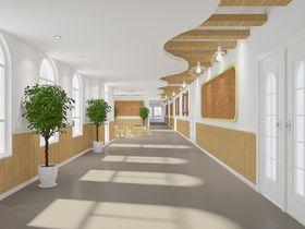 140平米地中海风格走廊装修案例