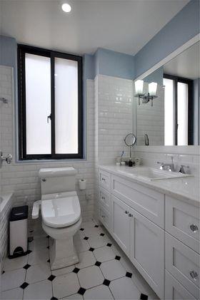 90平米美式风格卫生间图片