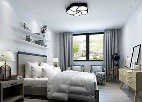 80平米現代簡約風格臥室家具效果圖
