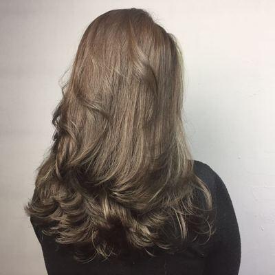 丽人 美发图库 造型烫作品图  4555 创意烫发 女 长发