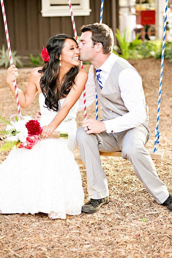 五彩缤纷的后花园狂欢节主题婚礼