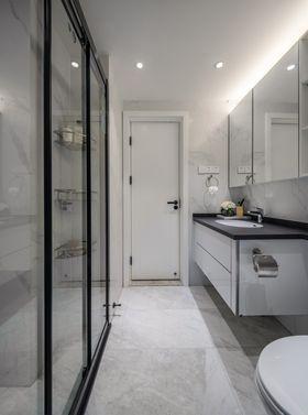 豪华型80平米现代简约风格卫生间装修案例