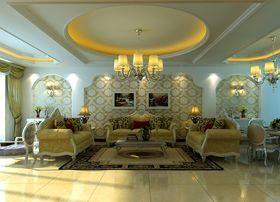 15-20万140平米一室一厅欧式风格客厅图片大全