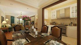 140平米四室两厅美式风格厨房橱柜图