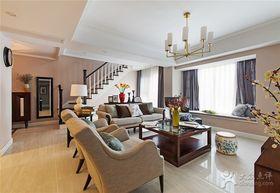 140平米复式美式风格客厅欣赏图