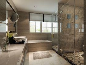豪华型140平米别墅现代简约风格卫生间图片