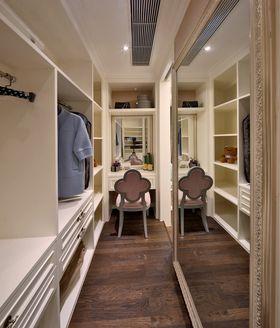 富裕型140平米三室两厅混搭风格衣帽间装修案例