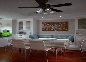 富裕型90平米三室两厅现代简约风格餐厅效果图