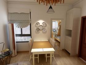 50平米小户型中式风格餐厅图片大全