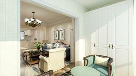120平米四室两厅美式风格阳台欣赏图