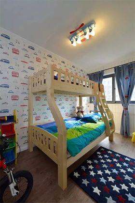 富裕型100平米三室两厅混搭风格儿童房设计图