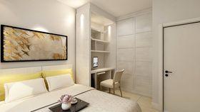60平米一室一厅北欧风格卧室图片大全