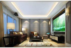 豪华型140平米别墅混搭风格影音室装修效果图